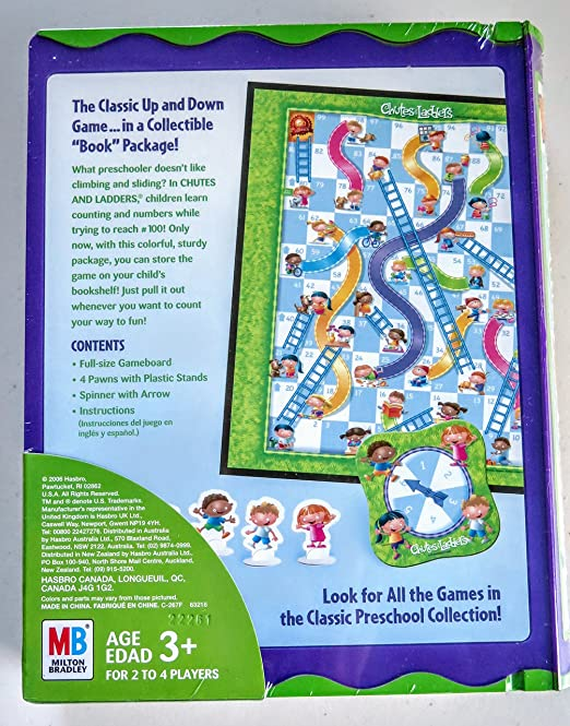 Amazon Chutes Ladders Book Series Toys Games