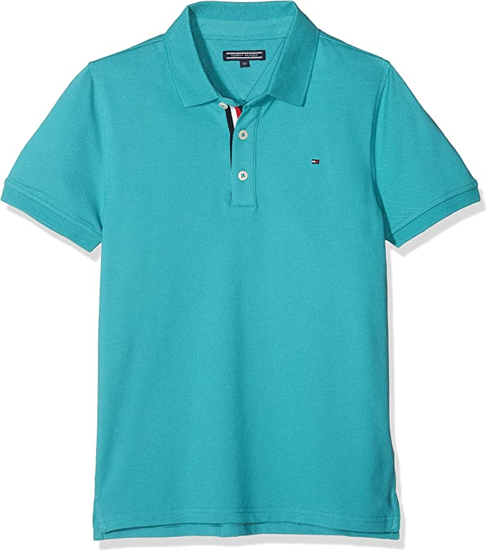 Tommy Hilfiger Jungen Boys Tommy Polo S//S Poloshirt
