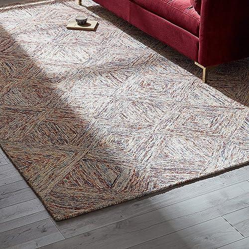 Rivet Motion Modern Patterned Wool Area Rug, 8 x 10 6 , Multi