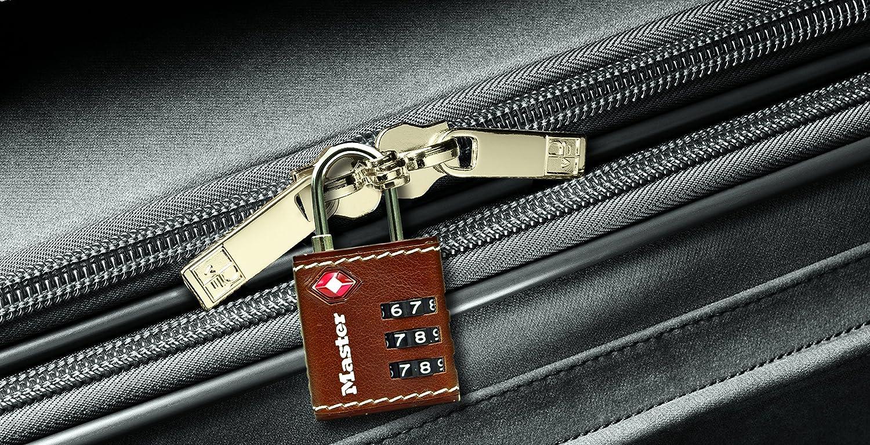 Master Lock TSA-Zahlenschloss 30 mm braun 4692EURDBRN