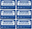 Dr. Bronner's Pure-Castile Soap, Peppermint, 5 oz, 6 Pack