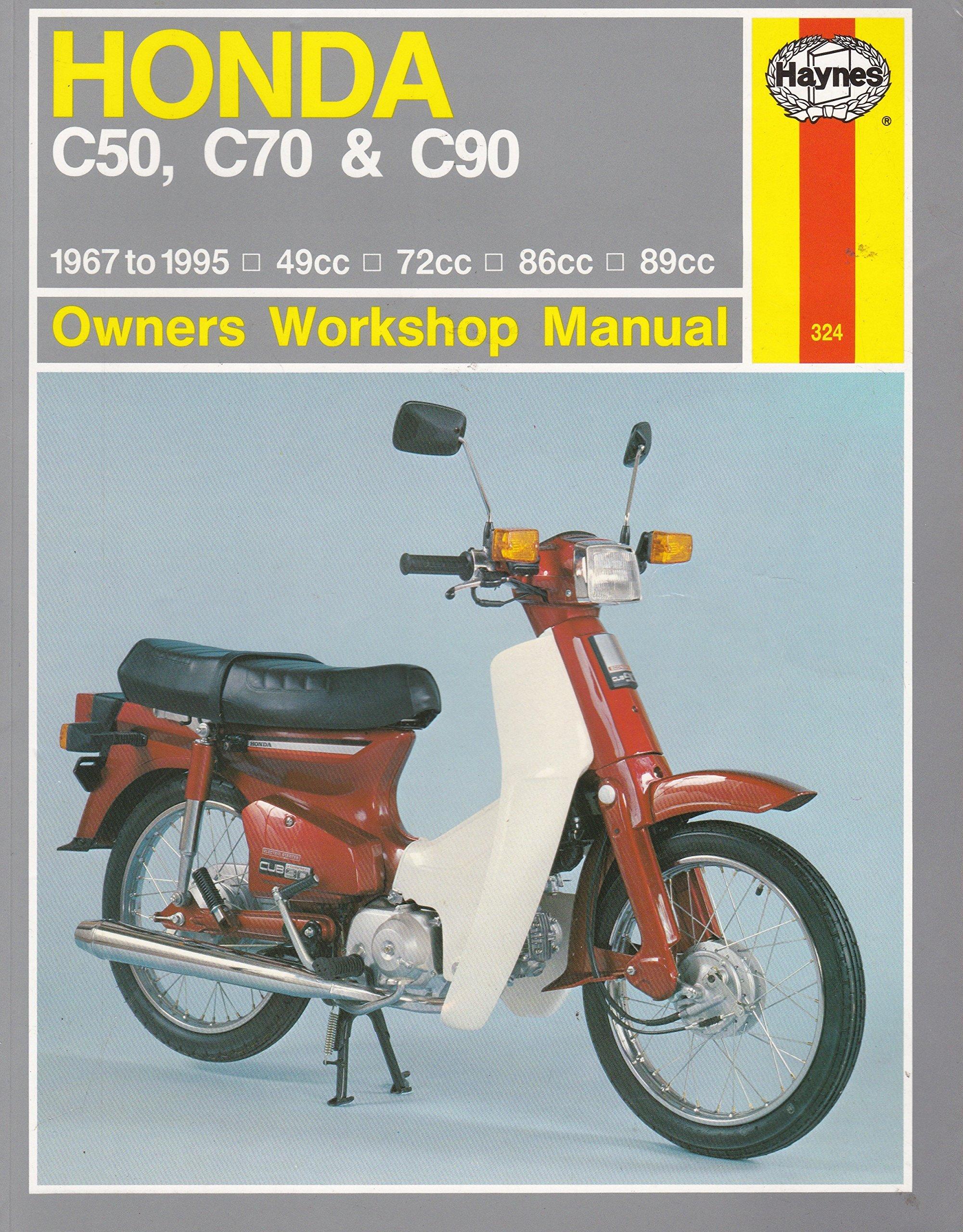 honda c50 c70 and c90 owner s workshop manual haynes owners rh amazon co uk honda  c50 repair manual pdf honda c50 service manual pdf