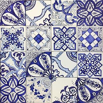Piastrelle 10x10 Colorate.Lotto 30 Mattonella Piastrella 10x10 Ceramica Vietri