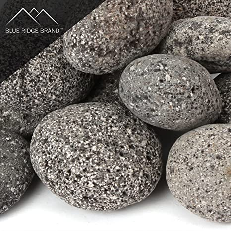 Blue Ridge Brand trade; Lava Rock - 25-Pound Tumbled Lava Stones for Fire - Amazon.com: Blue Ridge Brand Trade; Lava Rock - 25-Pound Tumbled