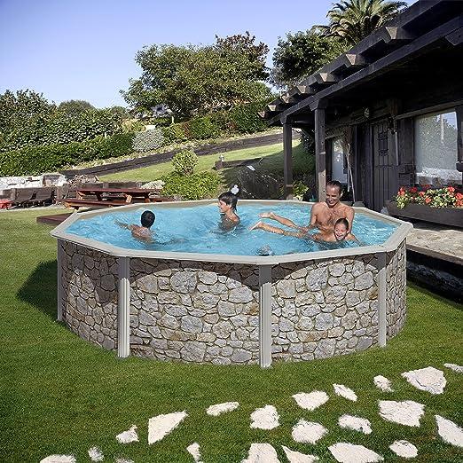 zizy Piscinas Amazing – Free-Standing piscina de acero sobre el ...