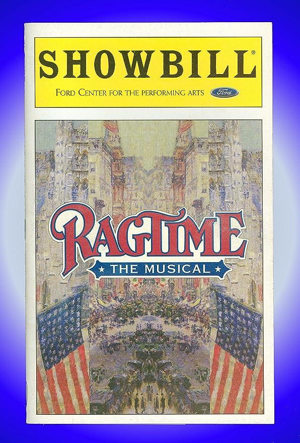 Ragtime, Broadway Playbill + Judy Kaye, Alton Fitzgerald ...