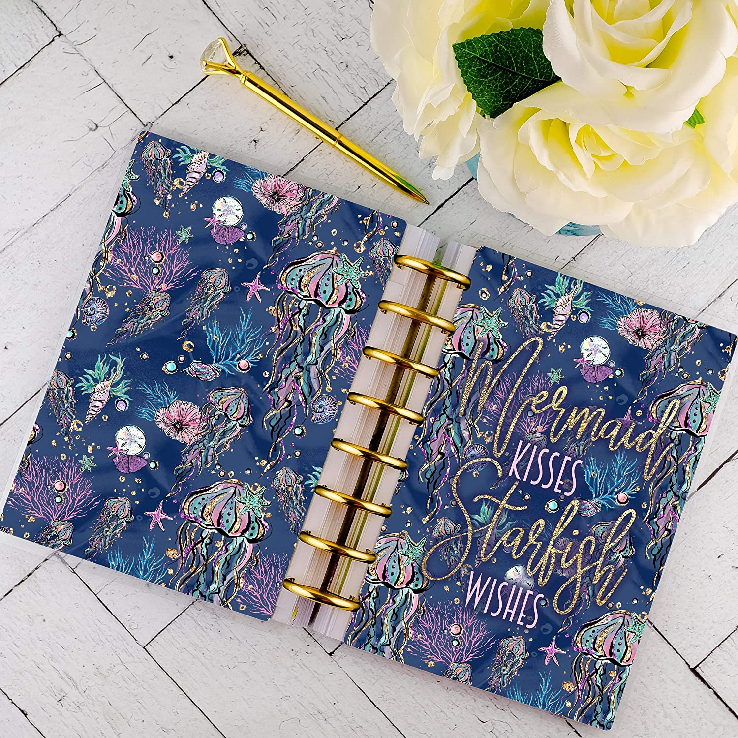 Disc-bound Planner Cover | for Staples Arc and Happy Planner
