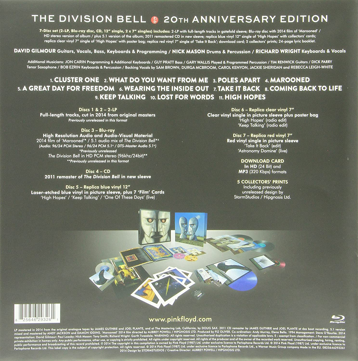 The Division Bell - 20th Deluxe Box Set: Pink Floyd: Amazon.es: Música