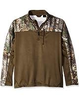 Walls Men's Hunting Fleece Lifestyle 1/4 Zip Pullover Big