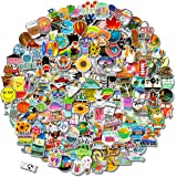 200 PCS Stickers Pack (50-500Pcs/Pack), Colorful Waterproof Stickers for Flask, Laptop, Phone, Water Bottle, Cute…