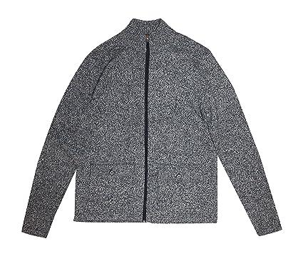 4058d4c3d0 Michael Kors Mens Classic Fit Cotton Wool Blend Full Zip Sweater ...