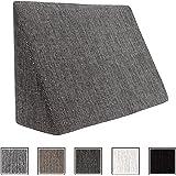 XL Almohada de cuña para sala de estar y dormitorio, cojín ...