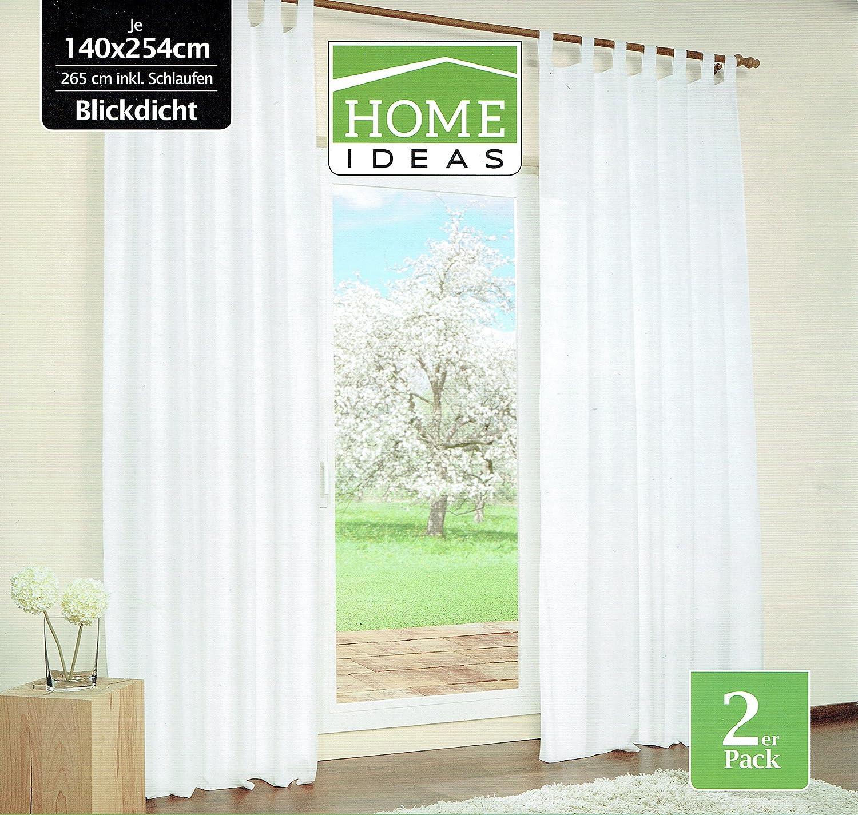Set di 2 tende decorative, 140x 265cm, beige 140x 265cm HI