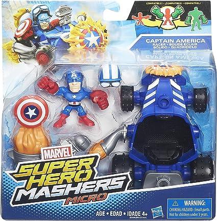 B7167 NEW IRON MAN with SONIC OVERDRIVER MARVEL SUPER HERO MASHERS MICRO
