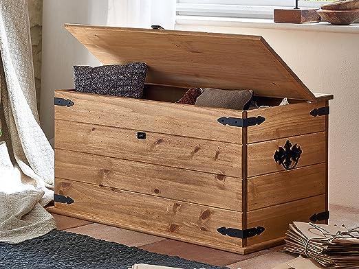 SAM® baúl, madera de pino, Mexico de muebles, mesa con un espacio ...