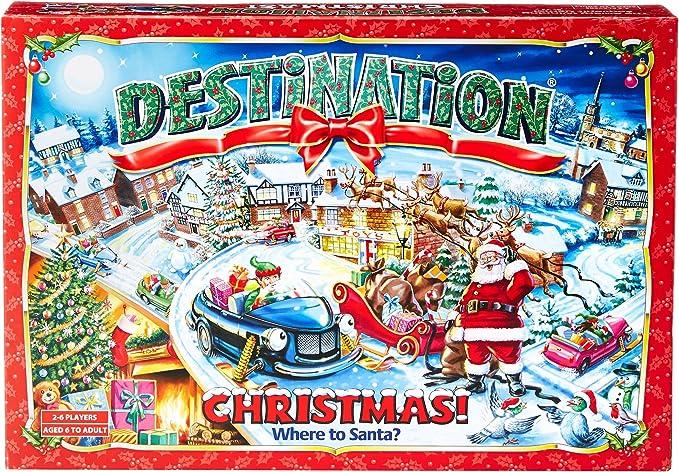 Destino Navidad Navidad Juego De Mesa: Amazon.es: Juguetes y juegos
