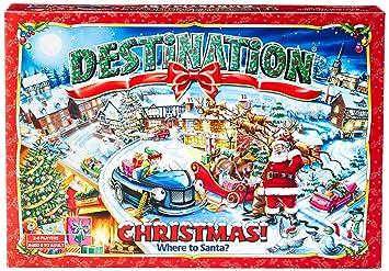 Destino Navidad Navidad Juego De Mesa Amazon Es Juguetes Y Juegos