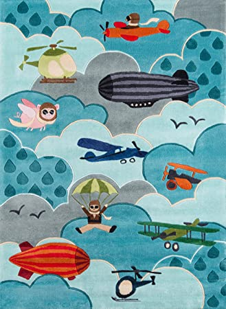 Amazon Com Momeni Rugs Lmojulmj10sky5070 Lil Mo Whimsy Collection