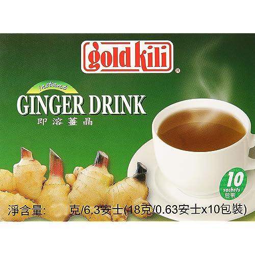 Gold Kili Instant Ginger Drink, 20-Count