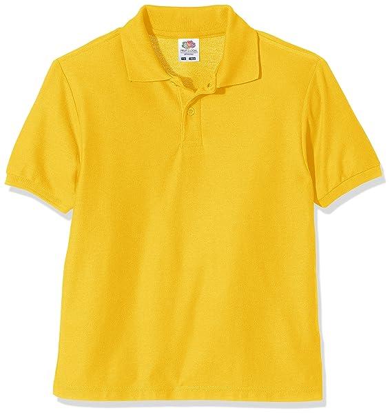 Fruit of the Loom Jungen Poloshirt Tops, T-Shirts & Hemden Herren