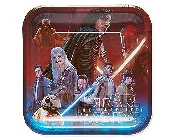 El último Jedi De Star WarsReyKylo Ren Plástico Fiesta Mantel Mantel