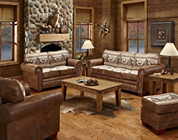 Astounding American Furniture Classics 4 Piece Alpine Lodge Sofa Download Free Architecture Designs Jebrpmadebymaigaardcom