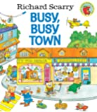 Richard Scarry's Busy, Busy Town (Golden Look-look Book)