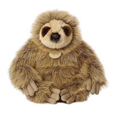 """Aurora World Miyoni Sloth Plush, 12"""" Tall: Toys & Games"""