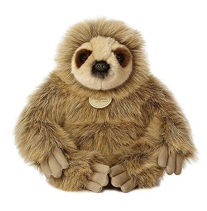 Amazon Com Aurora World Miyoni Sloth Plush 12 Tall Toys Games