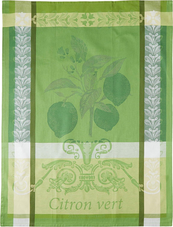 Green 22 x 30 Garnier Thiebaut 31416 Citron Vert Kitchen Towel