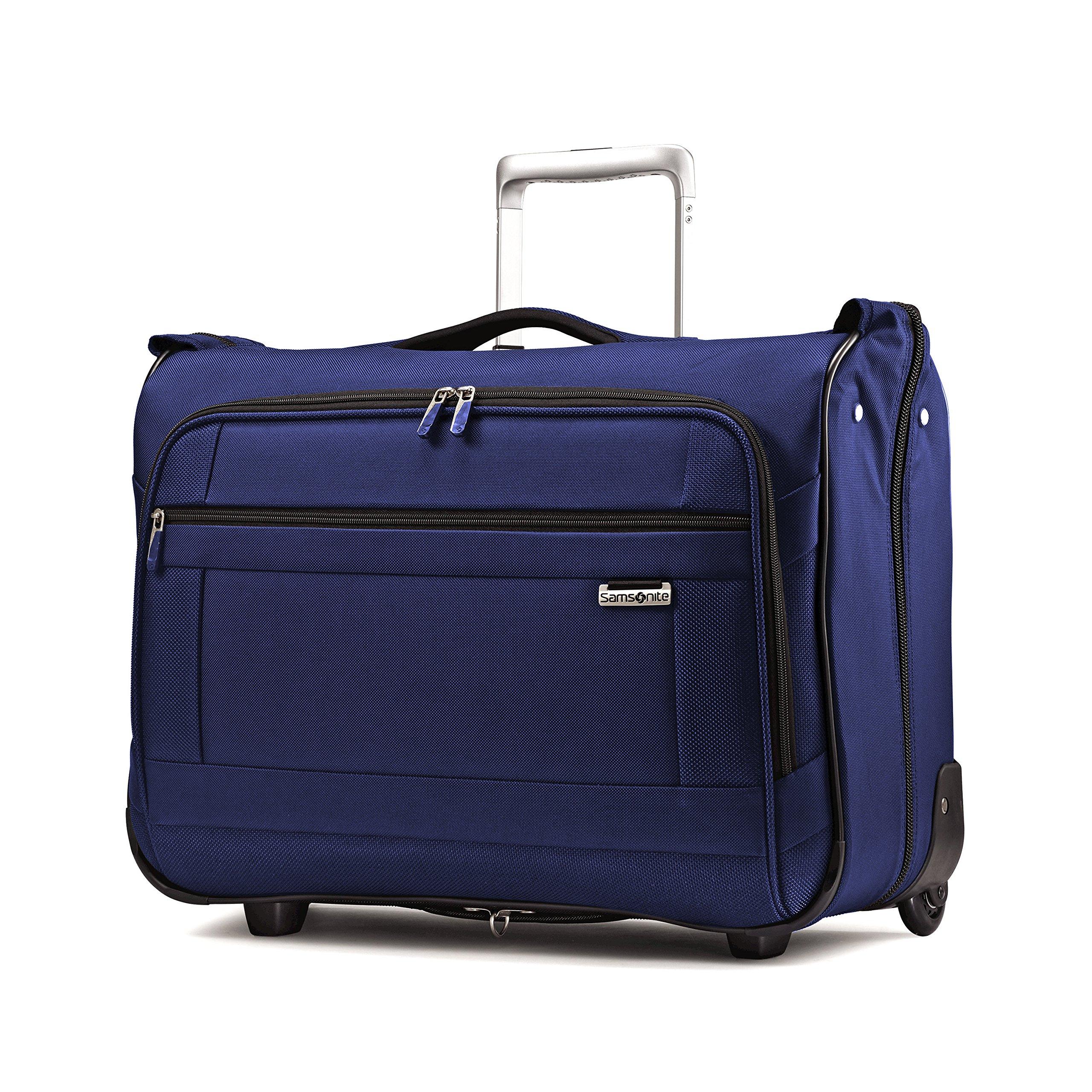 Samsonite Solyte Softside Carry-On Wheeled Garment Bag, Black (True Blue)