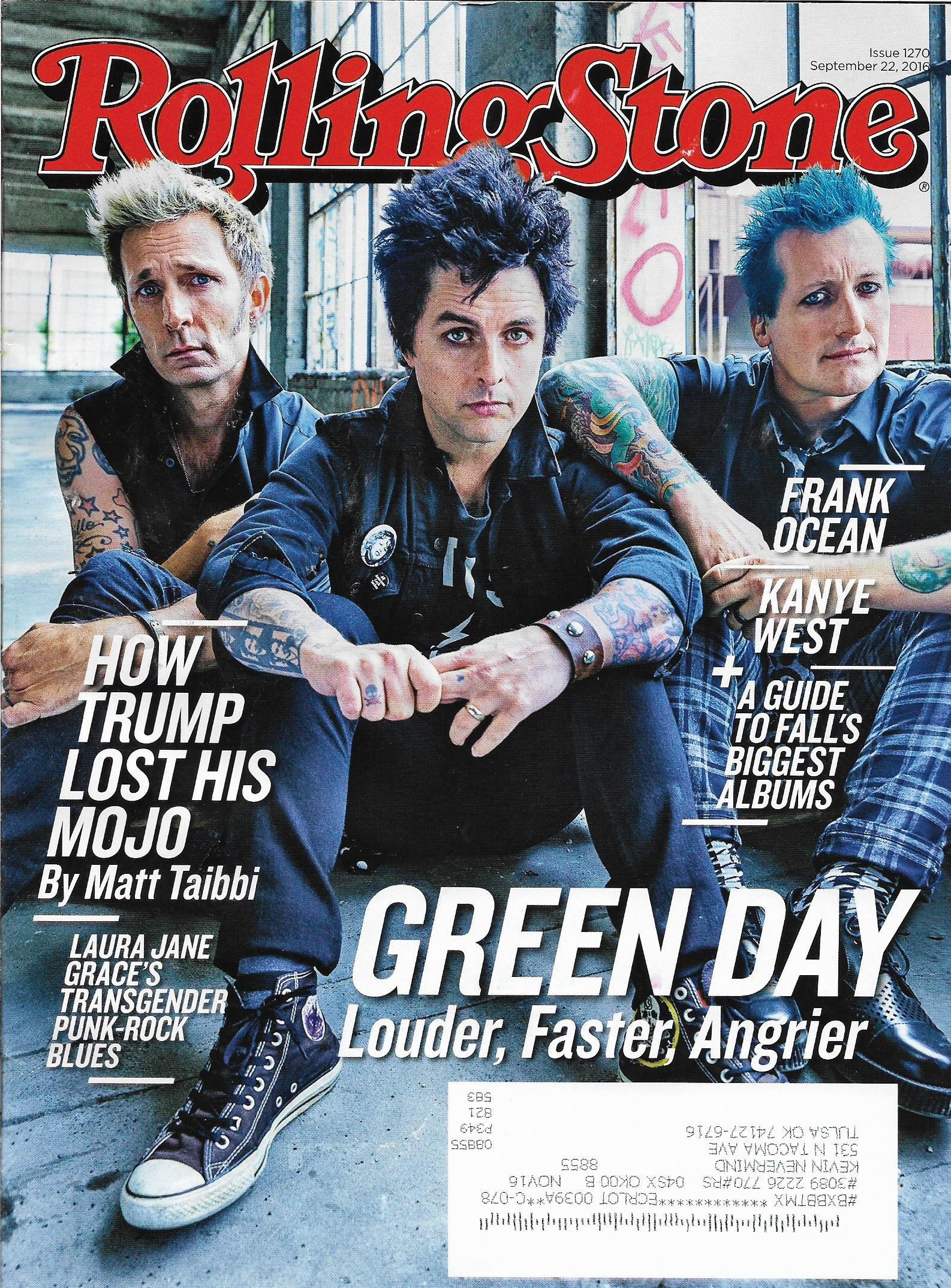 green day l a guide to falls biggest albums l bjarke ingels l laura jane grace against me rolling stone