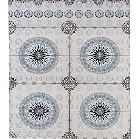 Marokkanische Fliesen Wandfliesen 1 qm bunt Muster 6 ...