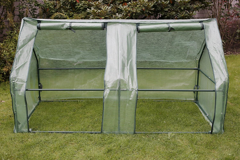 Gartenfreude - Caseta de invernadero, plástico, 185 x 95 x 95 cm: Amazon.es: Jardín