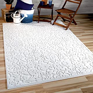 "product image for Orian Rugs Boucle' Cottage Floral Natural Area Rug, 5'2"" x 7'6"", Ivory"