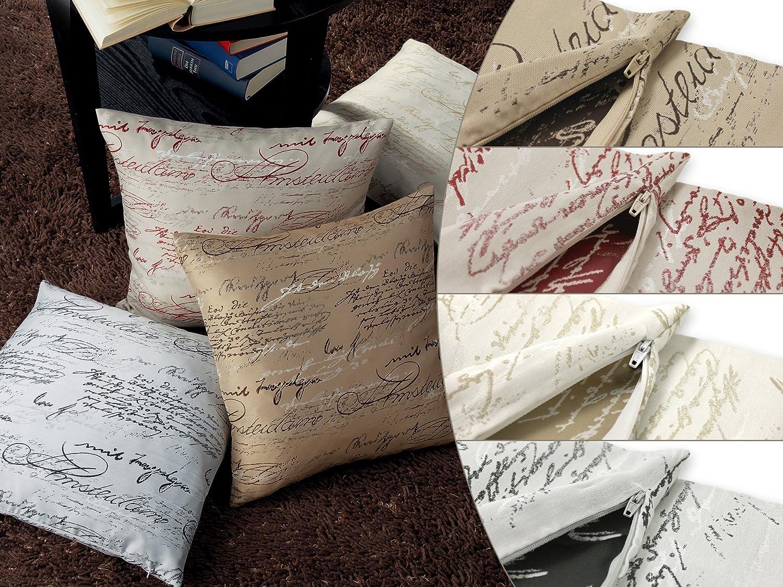 Moderne Kissenhüllen neutex kissenhülle scriptum markenqualität deko trends