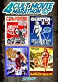 Cult Movie Marathon, Vol. 2 (Savage Island, Chatterbox, The Naked Cage & Angels from Hell)