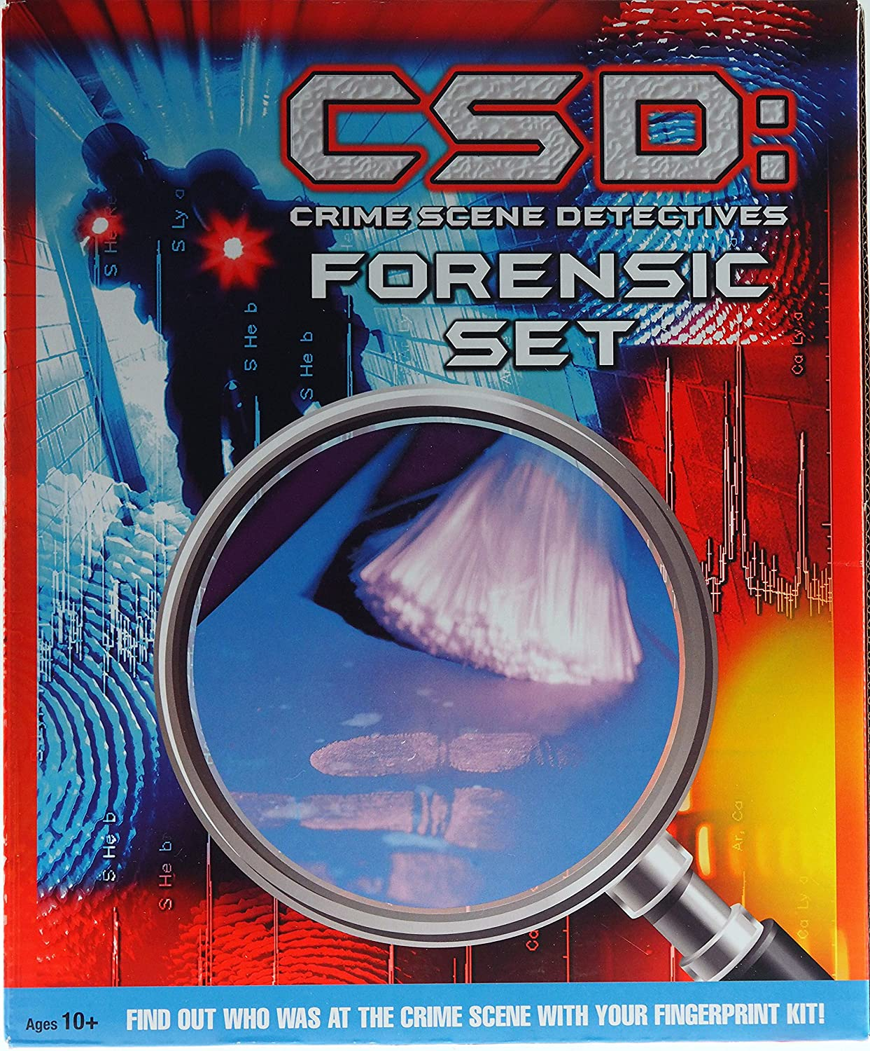 Buy Bwg Csd Forensic Science Set Kid S Finger Print Kit Online At Low Prices In India Amazon In