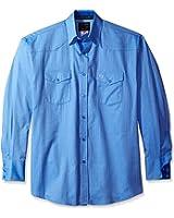 Wrangler Men's George Strait Troubadour Long Sleeve Shirt
