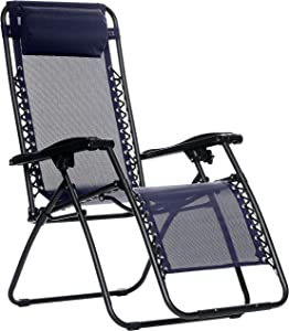 Amazon Basics Outdoor Zero Gravity Lounge Folding Chair
