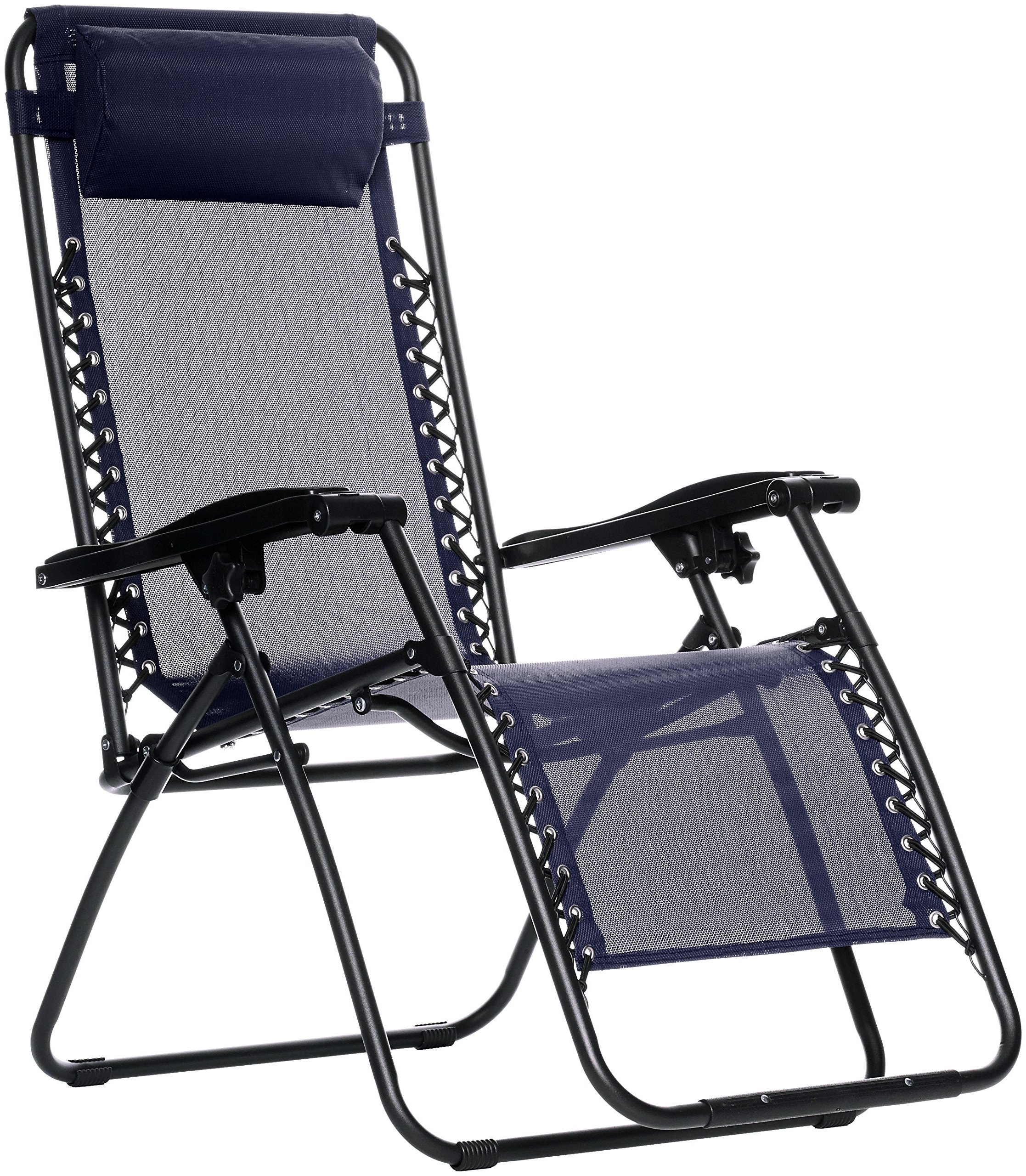 AmazonBasics Outdoor Zero Gravity Lounge Folding Chair, Blue by AmazonBasics