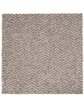 Plush carpet tiles with padding Self Adhesive Nance Industries Peel And Stick Soft Residential Carpet Tile With Padding 24 Amazoncom Carpet Carpet Tiles Amazoncom Building Supplies Flooring