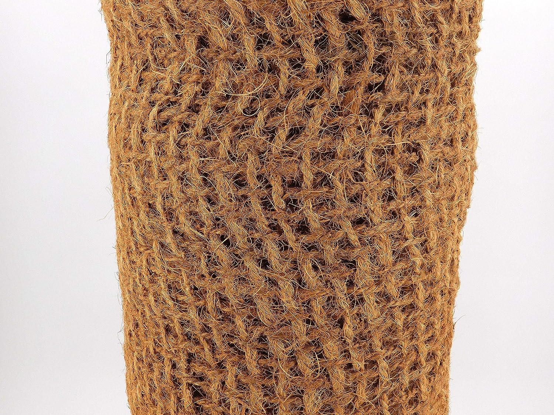 Hochwertige Ufermatte B/öschungsmatte von Aquagart I 30m Kokosgewebe Kokosfaser-Matte 1m breit Kokosmatte f/ür Pflanzen I Teichrand Pflanzen Wurzel-Schutz Kokosgeflecht Hangsicherung Bewuchsmatte Verschiedene L/ängen 30m