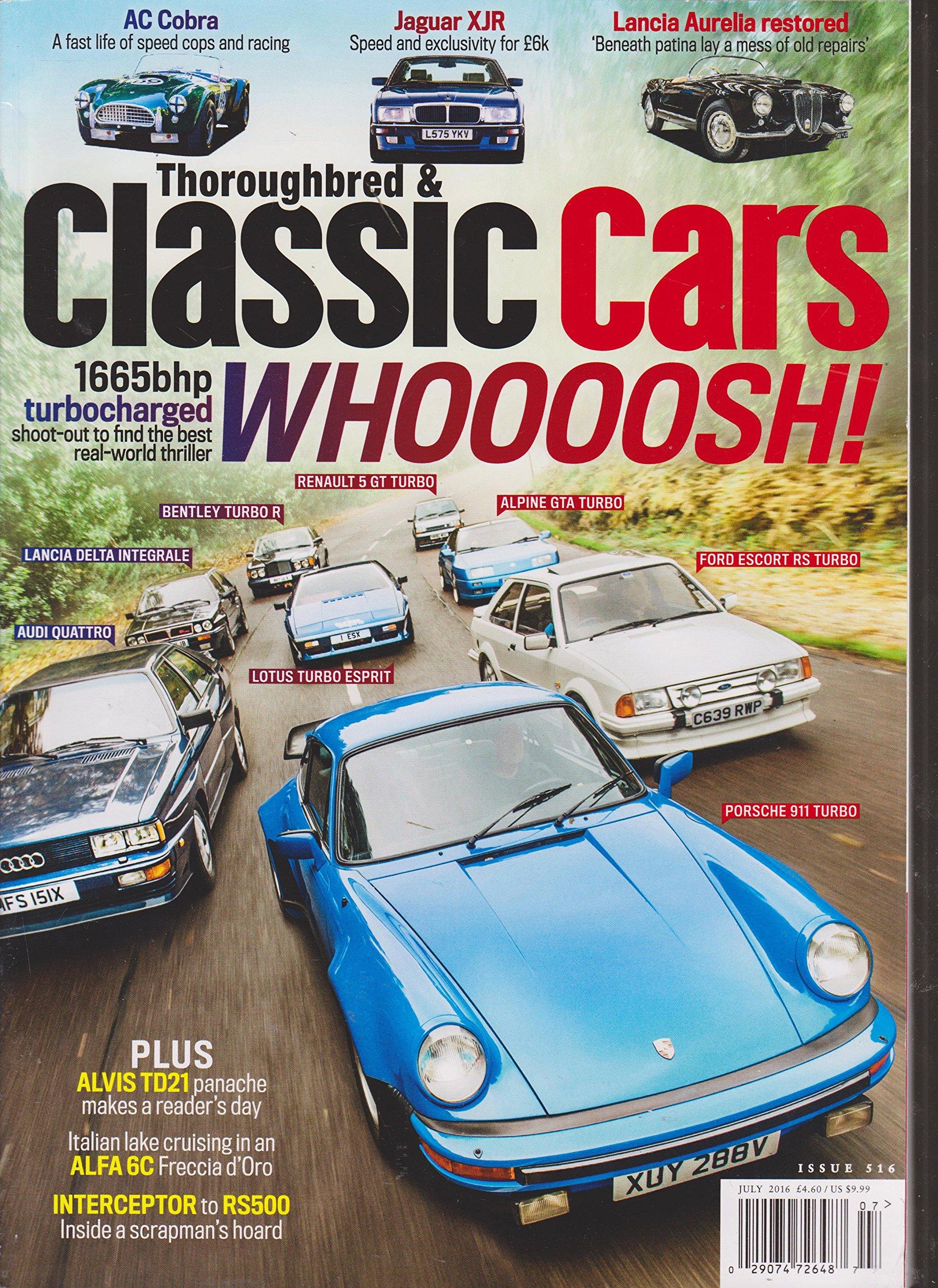 Download Thoroughbred & Classic Cars Magazine July 2016 pdf epub