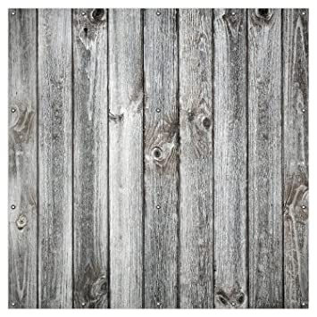 Wallario Xxl Garten Poster Outdoor Poster Holz Optik Textur