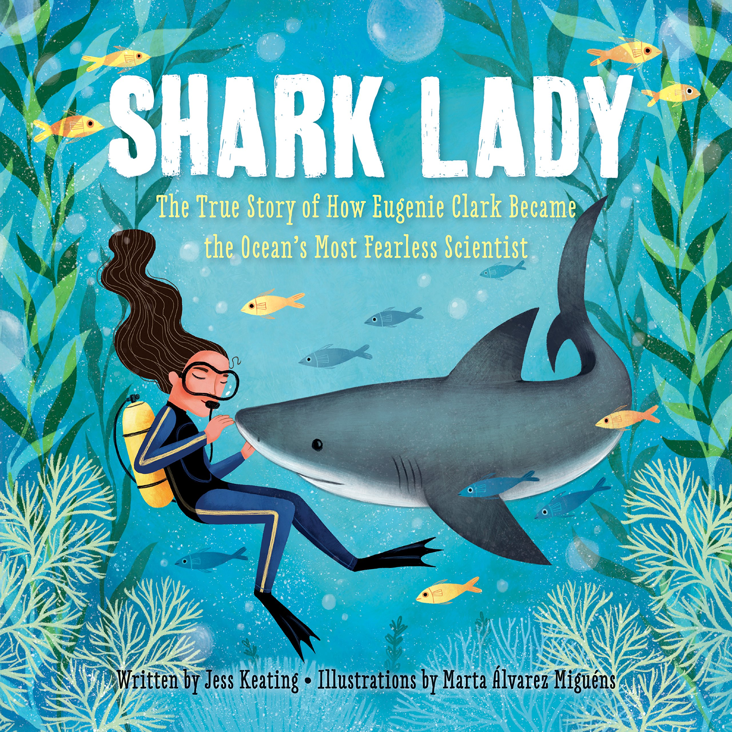 Image result for shark lady picture book