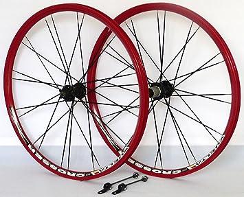 66,04 cm para bicicleta de ruedas de llanta de cámara hueca Crosser X II rojo disco cuchillo radios negro: Amazon.es: Deportes y aire libre