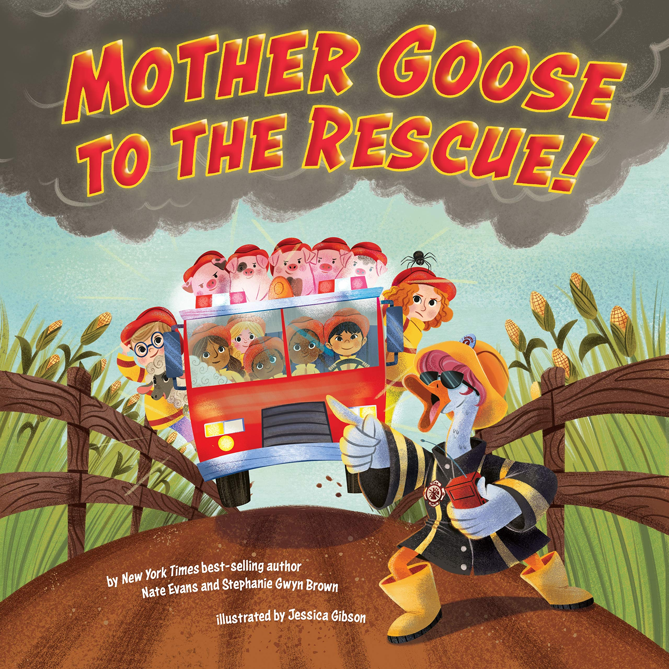 Amazon.com: Mother Goose to the Rescue! (9780593093573): Evans, Nate,  Brown, Stephanie Gwyn, Gibson, Jessica: Books