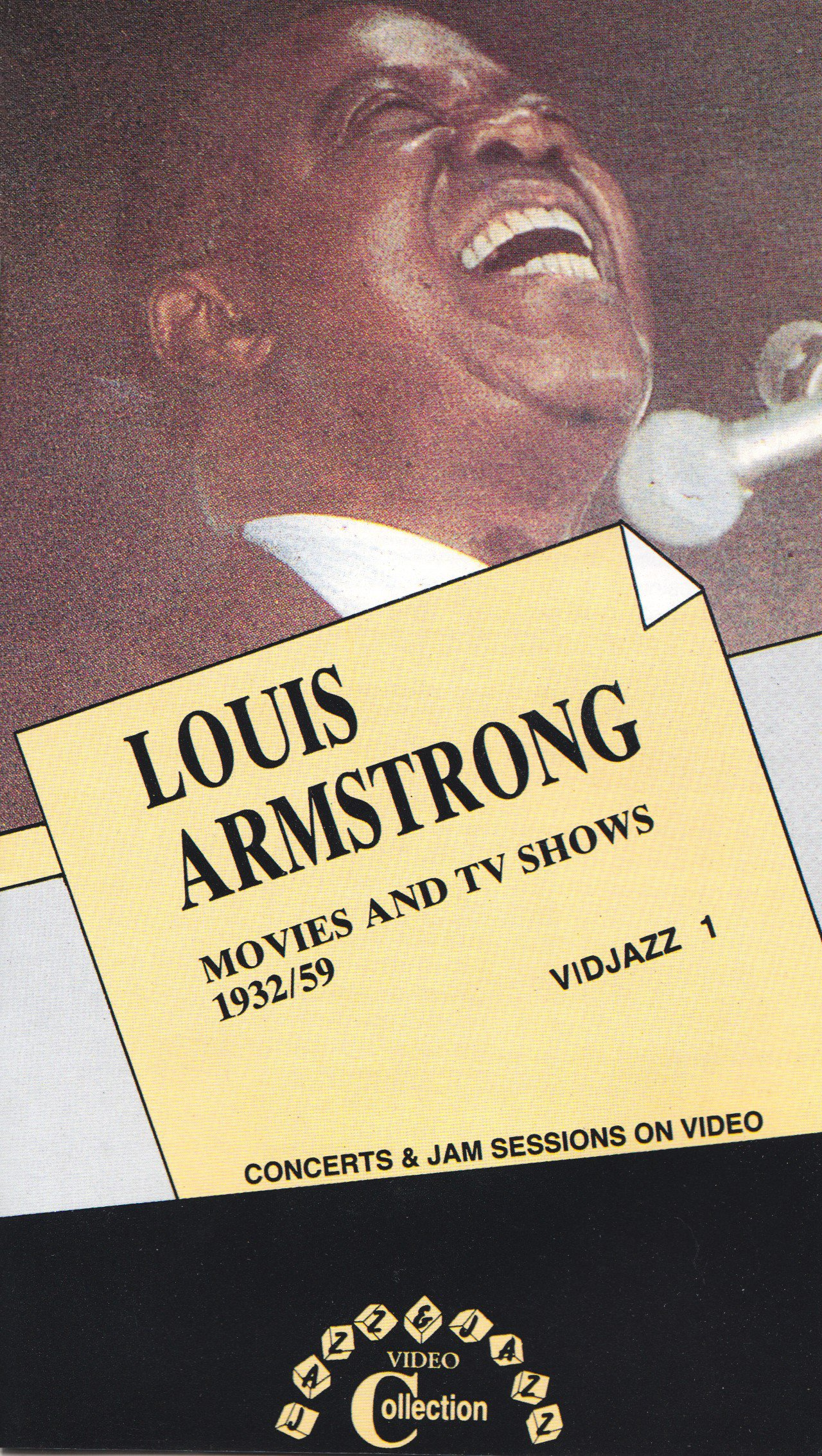 Louis Armstrong: Movies & TV Shows 1932/59 [VHS]