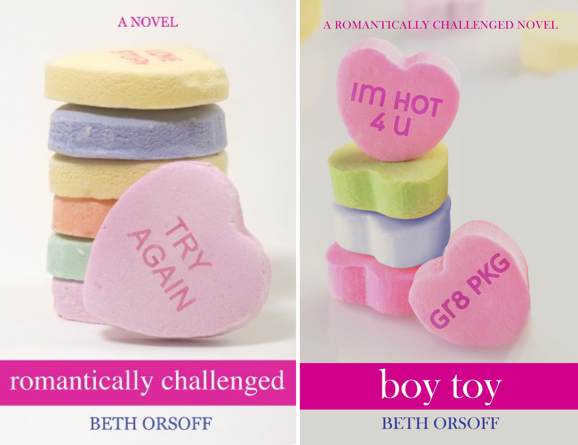 Romantically Challenged (2 Book Series)